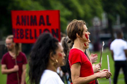AnimalRebellionprotest